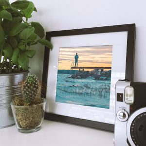 Cuadro personalizado fotografias en madera natural