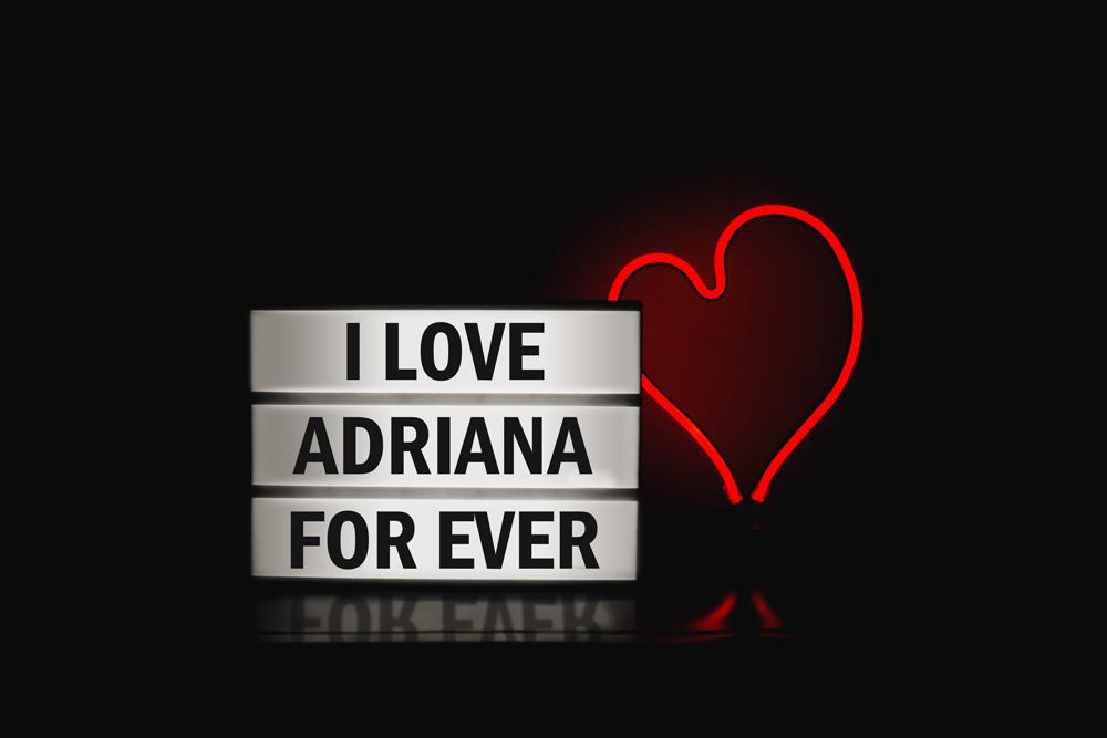 Cuadro personalizado I Love For Ever - ParedMágica.com - Impresión y ...
