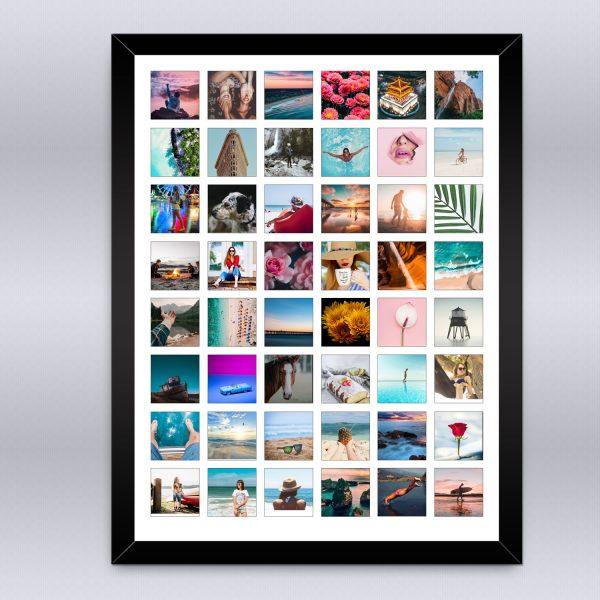 Cuadro Collage Instagram personalizado